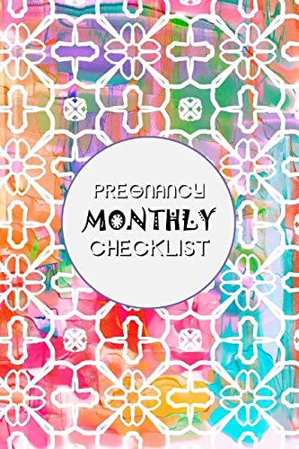 Pregnancy Monthly Checklist: Baby and Pregnancy To Do List, Before Baby Arrives, Expecting Baby, Week by Week, Pregnancy Organizer, First Time Moms, Daily Planner; Pastel Shapes]()