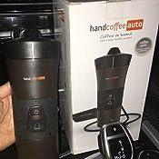 handcoffee 48264 machine caf pour la voiture pour dosettes senseo marron noir 9 5 x 9 5 x 22. Black Bedroom Furniture Sets. Home Design Ideas