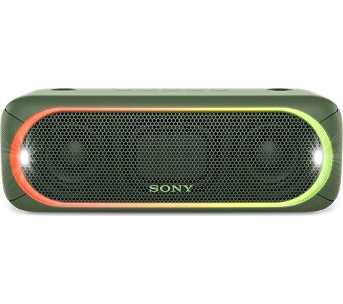 Sony SRS-XB30 Portable Wireless Speaker (Green) by Sony