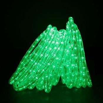 Direct-Lighting RLWL-50-GRN Green 50ft LED Rope Light