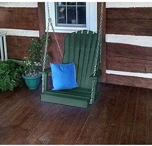 A L Furniture Co. Amish Made Poly Adirondack Chair Swing – Lead TIME to Ship 3 Weeks