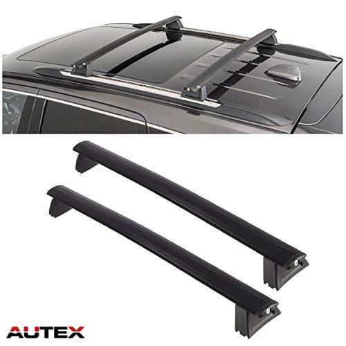AUTEX 2Pcs/set Aluminum Rooftop Cross Bar Cargo Rack for 2011-2017 Jeep Grand Cherokee Roof Rack Crossbar