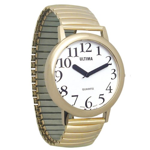 Ultima Low Vision Watch - White Dial-Unisex Model Number 57750/103H0103