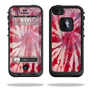 Mightyskins Protective Vinyl Skin Decal Cover for LifeProof iPhone 5 Case 1301 fre wrap sticker skins Tie Dye 1