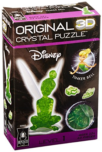Original 3D Crystal Puzzle - Tinker - Gift Tinkerbell