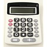 Lilys Home Jumbo 12-Digit Desktop Calculator