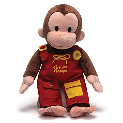 GUND Curious George Teach Me Plush