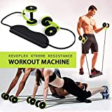 Roll N Flex Ab Roller Abdominal Muscle Trainer and Flex Workout