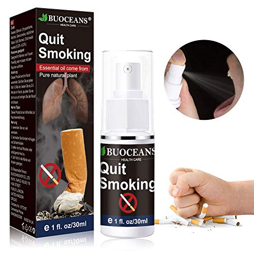 Quit Smoking, Nicotine Craving Relief Spray, Fight Nicotine Withdrawal Symptoms, an Easy Way to Quit Smoking Cigarettes Without Side Effects, an All Natural & Nicotine Free Stop Smoking Aid (Best Way To Stop Smoking Cigarettes)