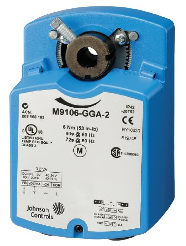 Johnson Controls - M9106-AGA-5 - Floating Actuator, 53 Torque