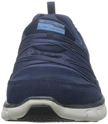 Skechers SKEES - D'Lites - Me Time, Scarpa Tecnica da Donna, Blu (Nvw), 36