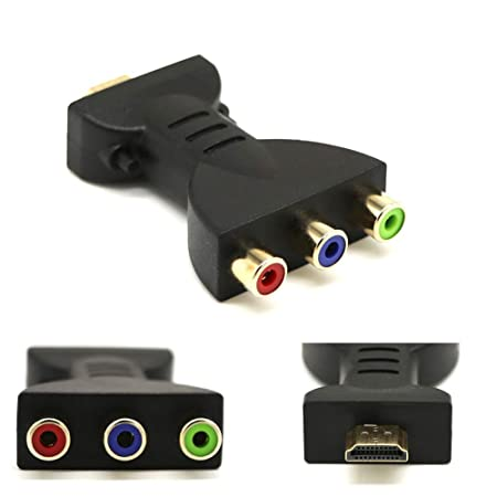 Martinimble - Cable Adaptador de HDMI Macho a 3 RCA para cámara de ...