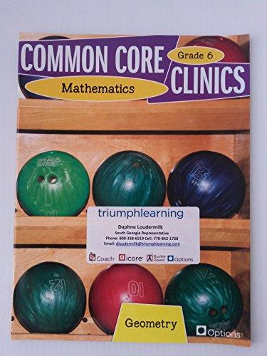 Common Core Clinics Mathematics - Geometry Grade 6