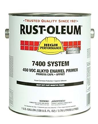 Rust Oleum 1060402 Gray High Performance 7400 System Heavy