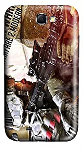 Call of Duty Ghosts2 PC Hard new case for samsung galaxy note 2 3d