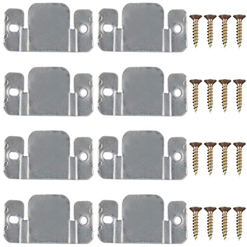 - PAXCOO 8 Pcs Metal Sectional Sofa Interlocking Furniture Connector with Screws