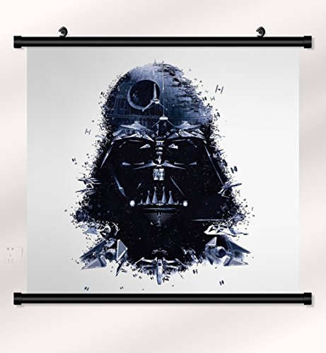 Darth Vader Star Wars poster with wall scroll 22 inch x 20 - Star Scroll