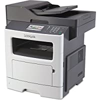 Lexmark MX511dhe Monochrome All-In One Laser Printer with Email Functions, Scan, Copy, Network Ready, Duplex Printing and Professional Features