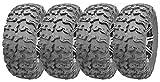 Full Set Wanda ATV/UTV Tires 27x9R14 Front 27x11R14 Rear /8PR Radial Deep Tread