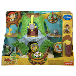 Jake's Magical Tiki Hideout Playset