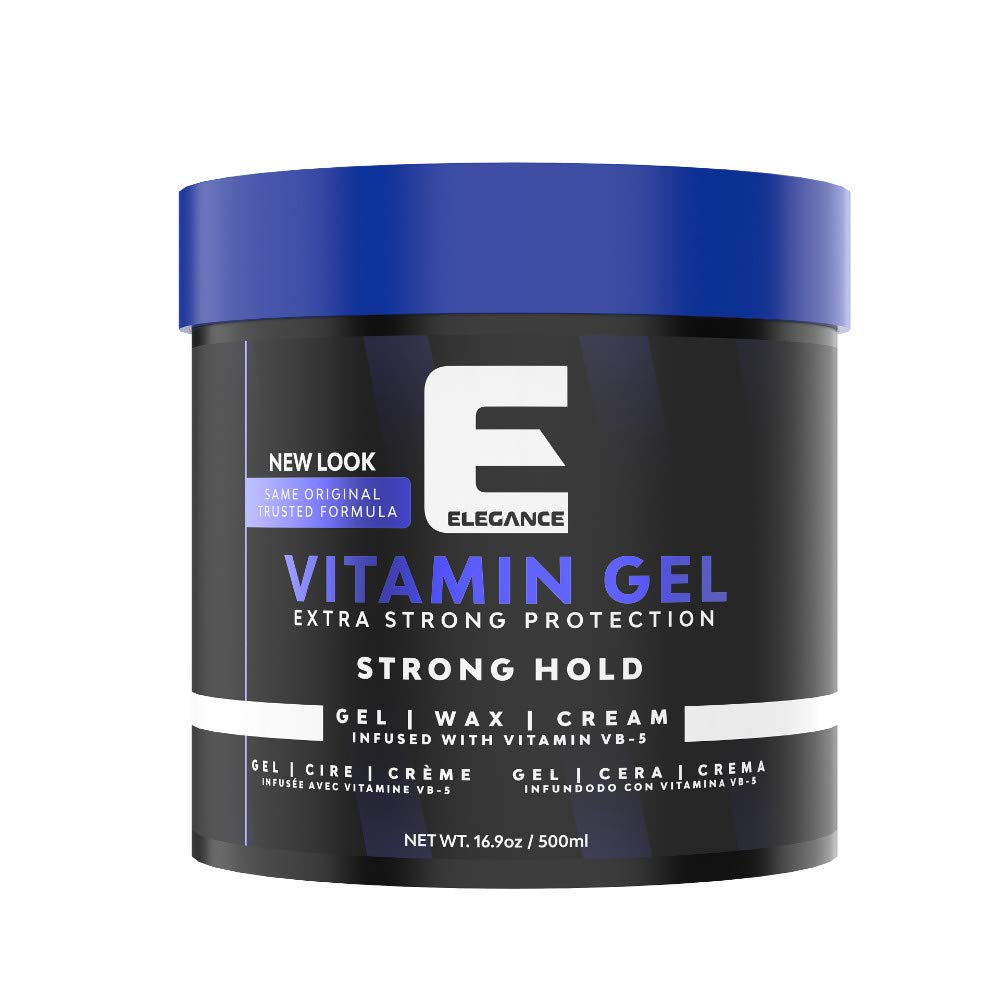 Elegance Strong Protection Hair Gel - 500 ml, Strong Hold Hair Styling Gel