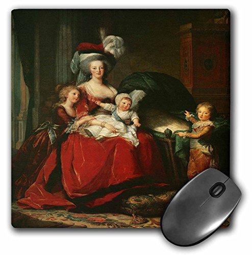 Antoinette Desk (3dRose LLC 8 x 8 x 0.25 Inches Mouse Pad, Marie-Antoinette Her Children, 1787 by Elisabeth-Louise Vigee-Lebrun (mp_169808_1))