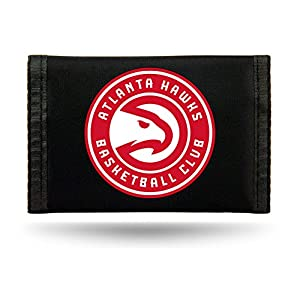 Rico Industries NBA Atlanta Hawks Nylon Trifold Wallet
