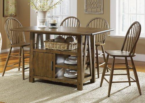 Liberty Furniture Rectangular Center Island Table