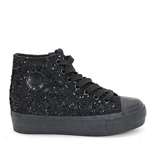 Sneakers Estrada'sport amp;scarpe Scarpe Nero Donna qOqnEZHCcw