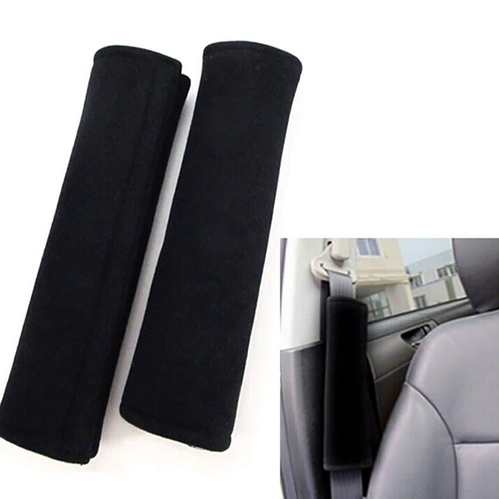 Glsmile Imbottiture per cintura di sicurezza Imbottiture per imbracature Cintura sicurezza auto Cintura Fodera protettiva Cuscino fodera cintura sicurezza per auto,zaino,borsa a tracolla