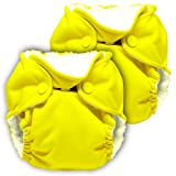 Lil Joey 2 Pack All-In-One Cloth Diaper, Sunshine by Lil Joey