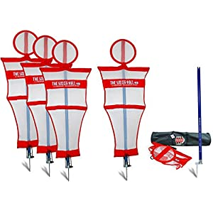 Soccer Innovations The Soccer Wall Mini Portable Training Defender with Carry Bag, Set of 4