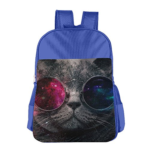 Galaxy Cat With Sunglass Children's Backpack For - Kelly R Sunglasses