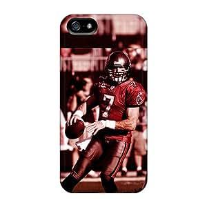 ColtonMorrill Iphone 5/5s Durable Hard Phone Cover Custom Stylish Tampa Bay Buccaneers Pattern [HBA7418Ngak]