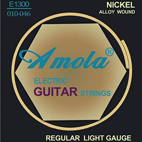 Original Amola E1300 .010-.046 Electric guitar strings Nickel guitar accessories wholesale guitar parts