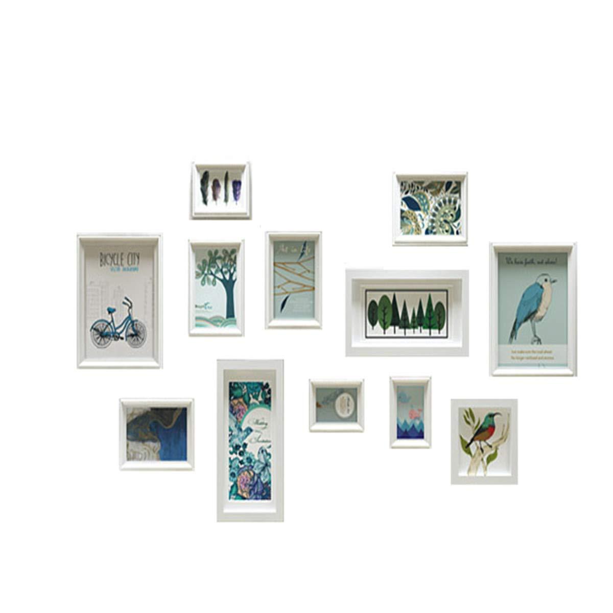 Muro fotográfico Creativo/Muro Creativo Europeo para portarretratos/ Portaretrato / Muro de Madera Maciza, Que representa el área de la Pared 145 * 85cm ...