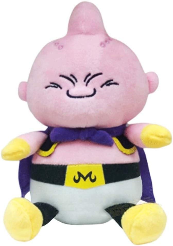 HHtoy 20cm Demonio Buu Juguete de Felpa Almohada Dragon Ball Anime Figuras Relleno muñeca Suave Niños Niñez Playmate Regalo