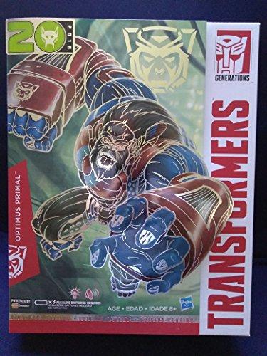 Limited Edition Transformers Optimus Prime Platinum Edition 2016 Optimus Primal Electronic Toy ()
