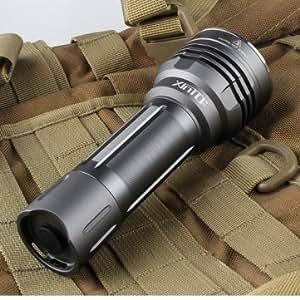 XINTD X3 CREE XM-L2 3/5Modes 2Groups 1600lm LED Flashlight 18650 --- Design:U2-1A
