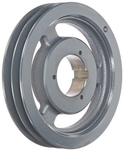Browning 2B5V86 Split Taper Sheave, Cast Iron, 2 Groove, A, B or 5V Belt, Uses B Bushing -
