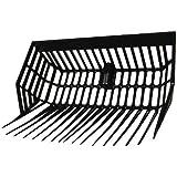 AMKA bolle forchetta con parti laterali | forcella Mist | stalla forcella | forcella letame forchetta di plastica forca da giardino cavallo a grappolo