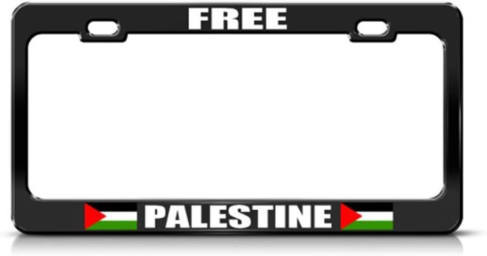 Ana Flastini Palestine Palestinian Country License Plate Frame Tag Holder Cover