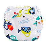 cake yeast wet - Baby Summer Diaper, Misaky Cover Adjustable Reusable Washable Nappy (Free Size, G)