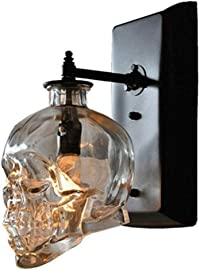 lampe tête de mort verre 3