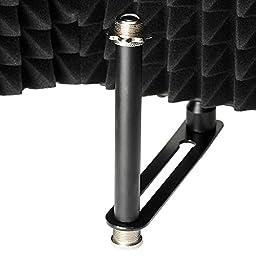 AW Pro Compact Recording Studio Microphone Isolator Panel Studio Mic Sound 5/8\