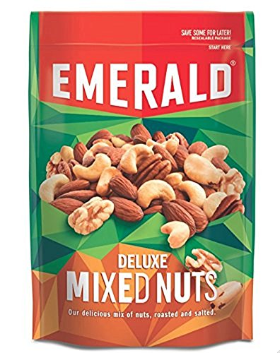 Mix Emerald (Emerald Deluxe Mix Nuts 5 Ounce  (Pack of 4))
