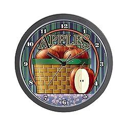 CafePress-Apple-Wall Clock