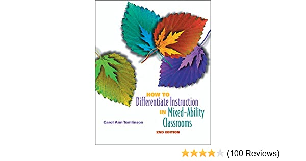 Amazon How To Differentiate Instruction In Mixed Ability