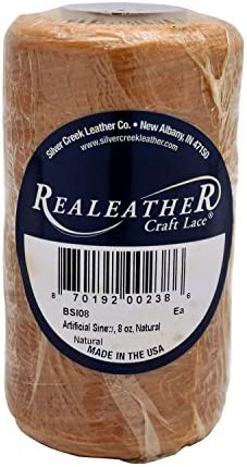 Realeather Artificial Sinew, Natural