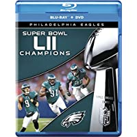 NFL Philadelphia Eagles Super Bowl LII 52 Champions on Blu-ray/DVD